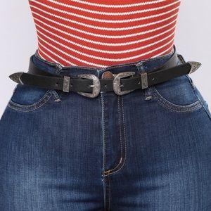 Black Sidney belt